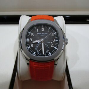 Patek Philippe Aquanaut Travel Time 5164A-001 Pre-owned Complete Box and Papers