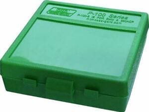 MTM 380/9MM Cal 100 Round Flip-Top Ammo Box New Fast Free Shipping
