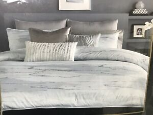 Donna Karan Home Aire Duvet Cover Full/Queen New Open Damaged Package