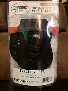 Fobus Evolution Roto Paddle Holster- Ruger LCR, SP101 Black RH Right RU101RP