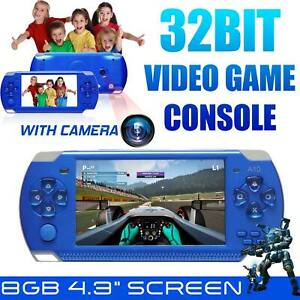4.3? PSP Video Game Console Player 32 Bit Built-In 10000 Game Portable Handheld
