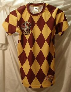 Gryffindor Polyester Shirt Harry Potter Quidditch Jersey Youth Size Medium $14.99