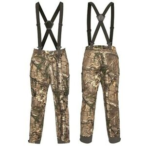 Under Armour Extreme Wool RealTree Xtra Forest Camo Hunting Pants Bibs 1297439
