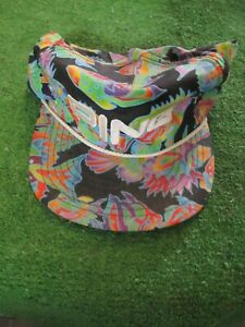 Ping Adjustable Hat Cap Multicolor Tropical Fish Golf Made In USA Vintage RaRe