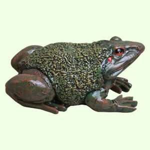Garden Toad Frog Large Statue Amphibian Outdoor Sculpture Animal Feng Shui Decor