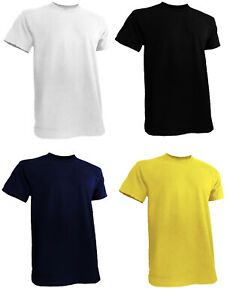 Mens Big and Tall Shirts Short Sleeve Round Neck S to 6XL $9.99