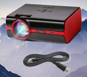 Video Projector Paick LED Projector 180 Big Screen Upgraded +60% Brighter