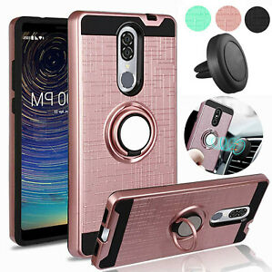 For Coolpad Legacy 2019 Sshockproof Hybrid Defender Case+Screen Protector