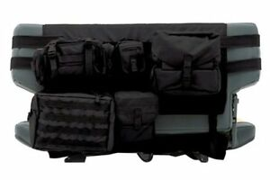 5660201 Smittybilt gear Seat Cover rear Black Jeep