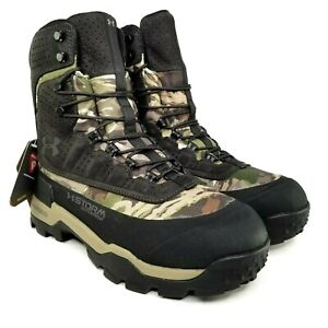 Under Armour Brow Tine 2.0 STORM Michelin Camo Ridge Reaper Hunting Boots 14 Men
