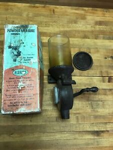 Vintage Redding Reloading Powder Measure Original Box Top