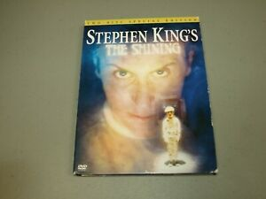 The Shining: TV Mini-Series (DVD 2003 2-Disc Set) Stephen King RARE OOP used