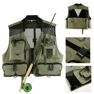 Maxcatch Mesh Fly Fishing Camping Hiking Photography Waistcoat Jacket Vest