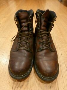 Red Wing 926 EH Brown Leather Dynaforce Work Boots Size 12
