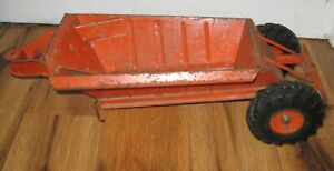 DOEPKE Pressed Steel Model EUCLID Pioneer Bottom Dump TRAILER ONLY Orange Nice