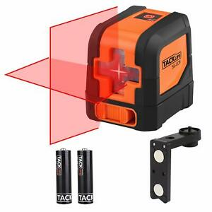 Tacklife SC L01 50 Feet Laser Level Self Leveling Horizontal and Vertical Cross