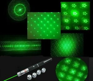 Grade A Astronomy 6 IN 1 Green Laser Pointer 5 MW $9.99