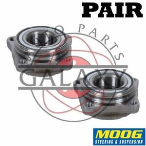 Moog New Front Wheel Hub Bearings Pair For Honda Acord 90-97 4-Cylinder