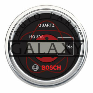 New Bosch Digital Hour Meter 2quot; Opening 12v amp; 24v Systems Use Spade Terminals $79.25