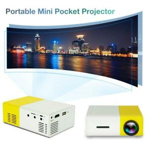 Portable Multimedia Mini LED LCD Projector Full HD 1080P Home Theater Projector