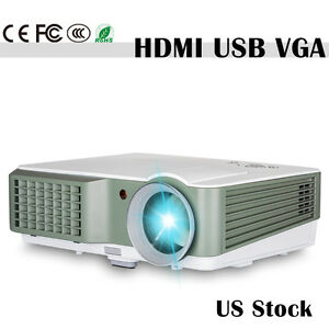 LCD LED Projector Home Theater Multimedia 1080p Full HD Movie Video Games 4200LM