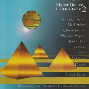 VARIOUS ARTISTS - Higher Octave Collection, Vol. 2 (2-CD, Aug-1995)
