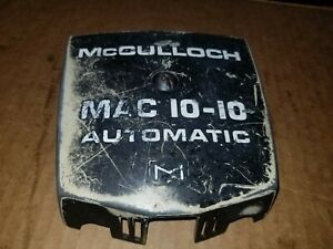 Vintage Mcculloch Chainsaw Parts For Sale
