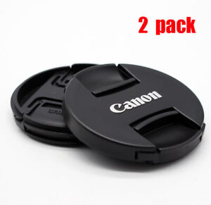 2X Canon II 72mm Lens Cap Cover for Canon 7D 80D with EF 18 200mm 15 85mm Lens