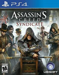 Assassin's Creed Syndicate PS4 Brand New Factory Sealed Free Shipping
