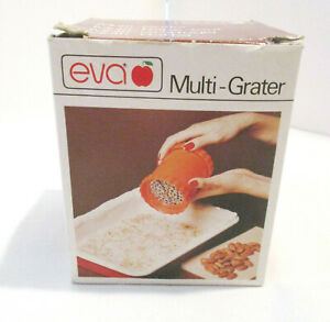 Eva Multi-Grater for Grating Cheese, Veggies, Nuts, Etc.