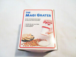 The Magi Grater Multi-Grater for Grating Cheese, Veggies, Nuts, Etc.