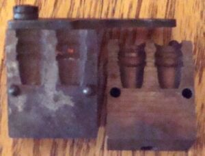 Vintage*Lyman*1 Cavity Bullet Mold #410459*220 Gr*SWC*USED*FREE Shipping