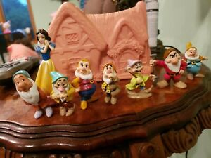 VINTAGE Mattel 1993 Disney's Snow White Once Upon a Time Playset