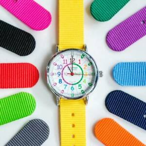 Easy Read Time Teacher Wrist Watch :: Learn to Tell the Time :: Choose colour