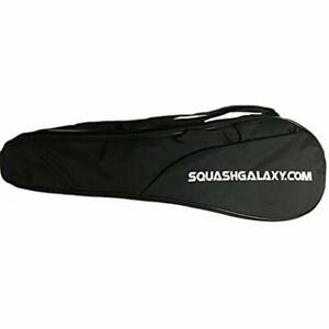 Deluxe Full Size Squash Racquet Cover WPocket Sports & Outdoors Racquets