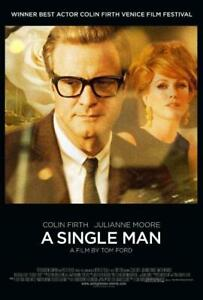 Poster a Single Man Colin Firth Julianne Moore Film Cinema Hot #1