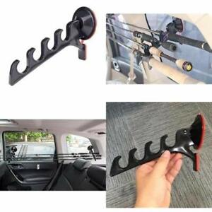 Suction Cup Fishing Rod Rack Pole Holder For Car Truck SUV - Easy Install Keeps