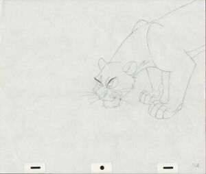 WALT DISNEY'S THE LION KING (?) ORIGINAL ANIMATION ART PAGE PRODUCTION DRAWING $199.99