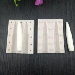 3D Simulation Bullet Fondant Cake Silicone Mold Decorating Chocolate Molds#Z