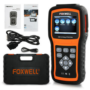 ABS Airbag Reset Tool OBD Car Code Reader Scanner Diagnostic Foxwell NT630 Elite