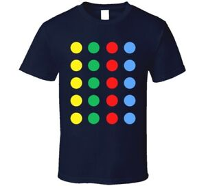 Twister Dots Retro Game T Shirt