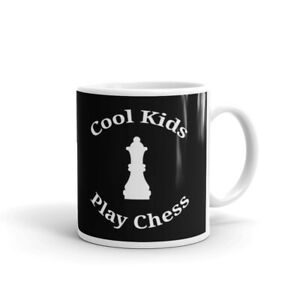Cool Kids Play Chess Funny Novelty Game Lover Cup Gift Coffee Tea Ceramic Mug