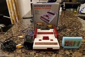 Vintage Nintendo Famicom Type Console - Family TV Game HK-380 w 22 and 1 Cart