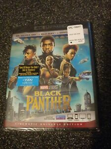 4K Ultra HD: Black Panther ( 4K + Blu-Ray + Digital Code ) SEALED
