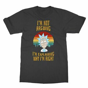 Rick and Morty vintage I'm not arguing Men's T-Shirt