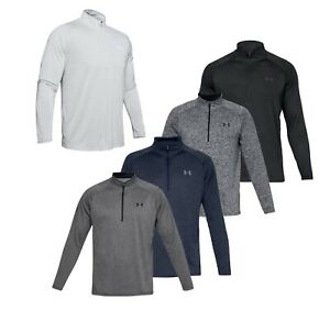 2019 Under Armour UA Tech 2.0 12 Zip Pullover Golf Top - Choose Size and Color