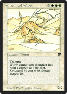 Elder Land Wurm X 1 MTG Legends Near Mint Beauty RG 4RCards