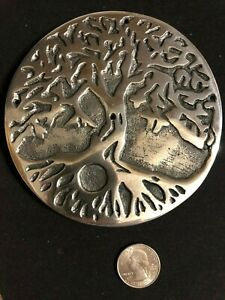 Tree Of Life  Metal Stick or Cone Incense Burner Wiccan Pagan Metaphysical