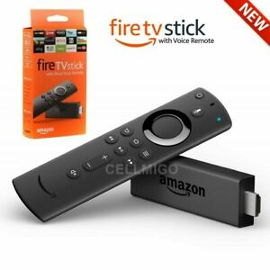 NEW Amazon Fire TV Stick (2nd Gen) w Alexa Voice Remote Streaming Media Player