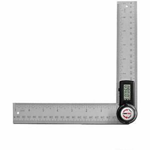 GemRed 82305 Digital Protractor Angle Finder Stainless Steel Ruler 200mm 7inch $35.99
